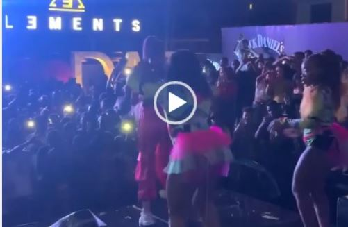 Sho Madjozi's performance in Tanzania brings social media to a halt - Video