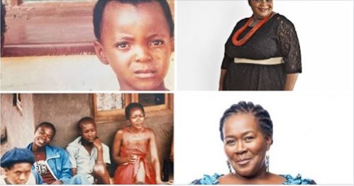 Check Out Connie Chiume (Sonto in Gomora) And Marjorie Langa ( Gloria in Scandal) Pics As Kids