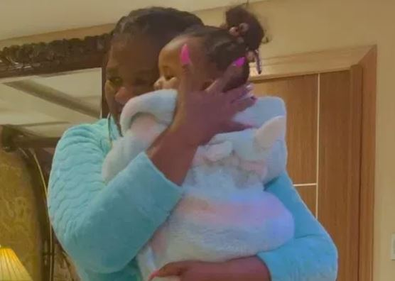 MaMkhize shares heartwarming moment with granddaughter, Baby Flo - Video