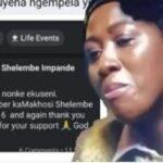 Good news to the lady 'MaShelembe' who broke Mzansi in tears last night episode